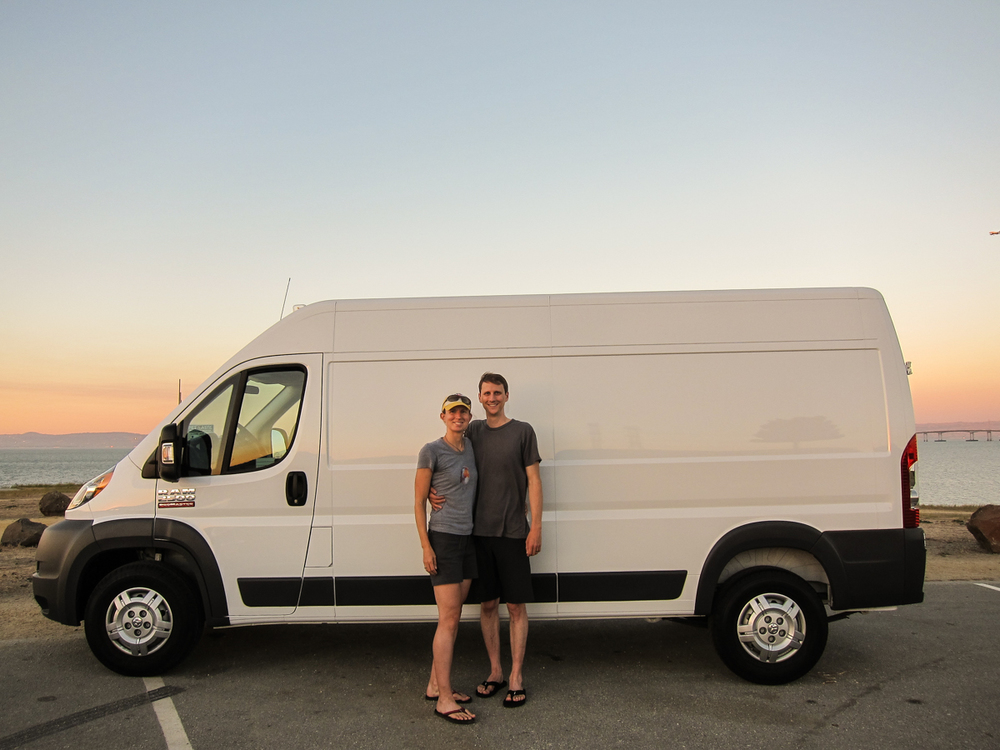 We got to take it home today! 2014 Dodge Promaster 2500.