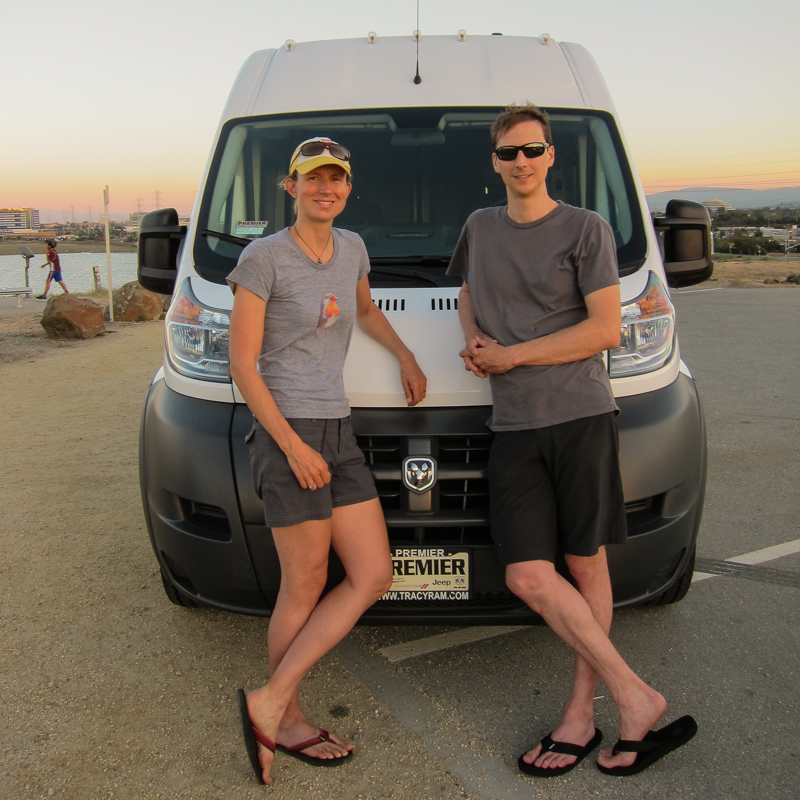 Andrea Amp Brian With The New Dodge Promaster Van