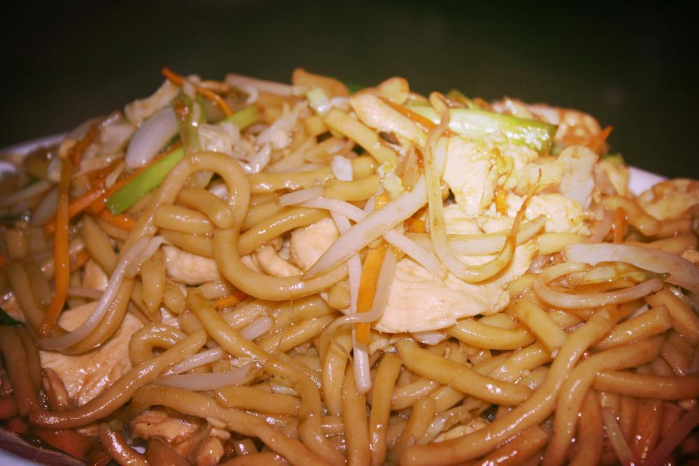 Cantonese Pork Lo Mein Recipe — Dishmaps