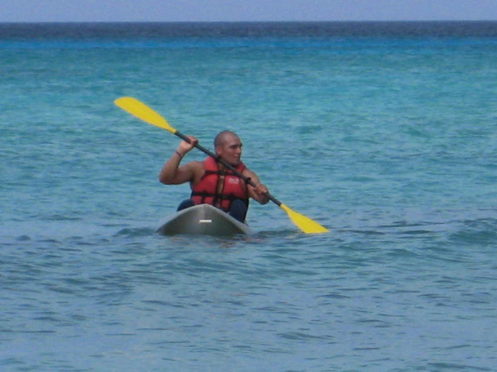 Kayaking in Dominican Republic