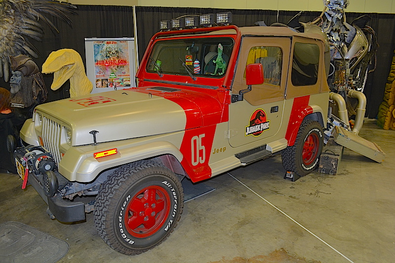 Jurassic Park jeep.  © West of The Rockies