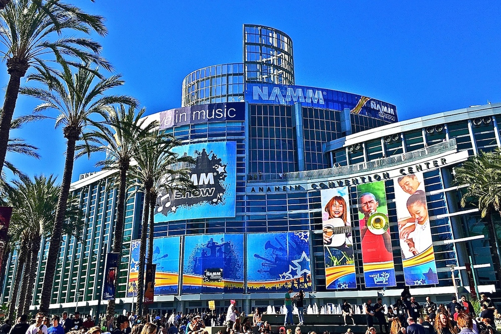 """Well, Hello NAMM!""  The Anaheim Convention Centre,  2015."