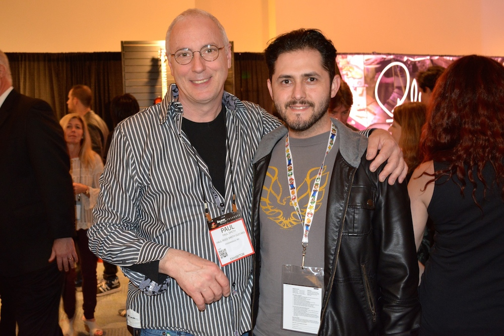 Mr P.R.S. and our very own Frank, NAMM 2015.