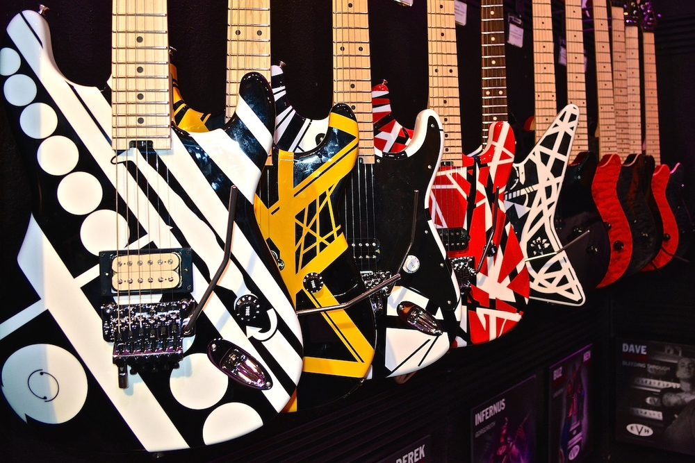 EVH Guitars, NAMM 2015. ©WoTR Radio
