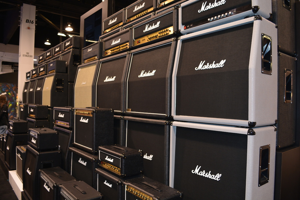 Marshall Amplifiers, NAMM 2015. ©WoTR Radio