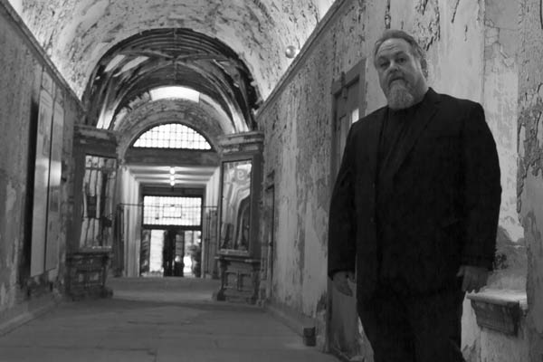Photo of James Picard taken at the Eastern State Penitentiary, September 2014. Courtesy of www.darkandwounded.com.