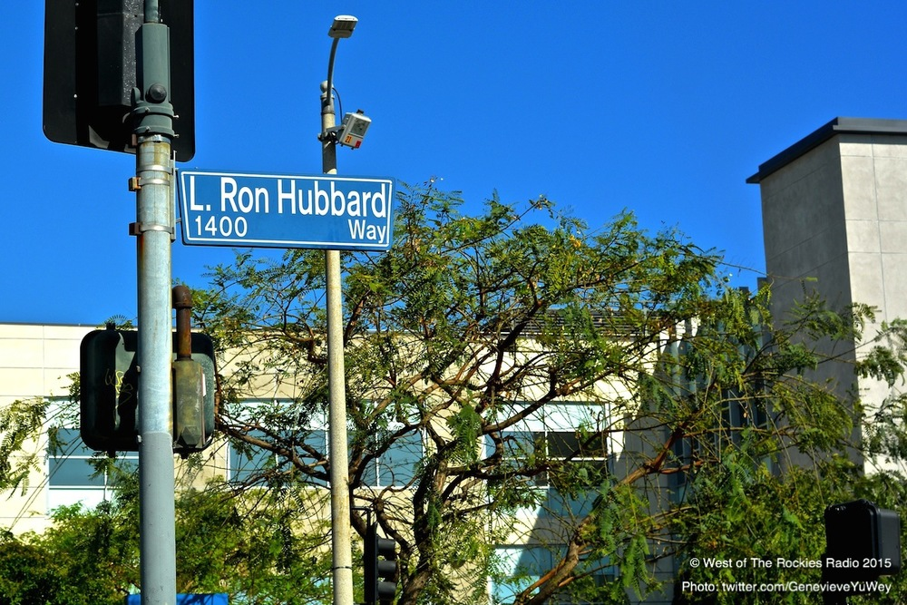 L. Ron Hubbard Way, Los Angeles. Yes, they even named a street after him.