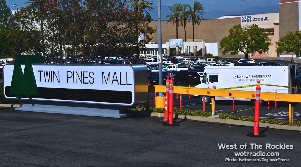 The  Twin Pines Mall , as seen on October 20th 2015 (technically the  Puente Hills Mall ).