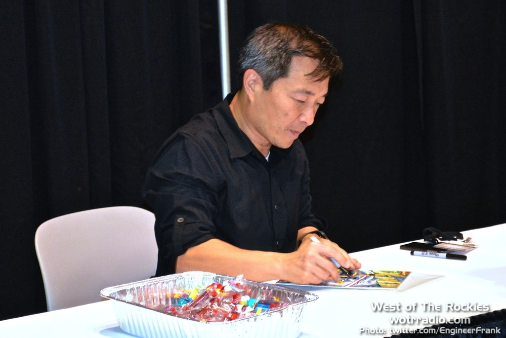 Famed comic-artist and writer, Jim Lee.