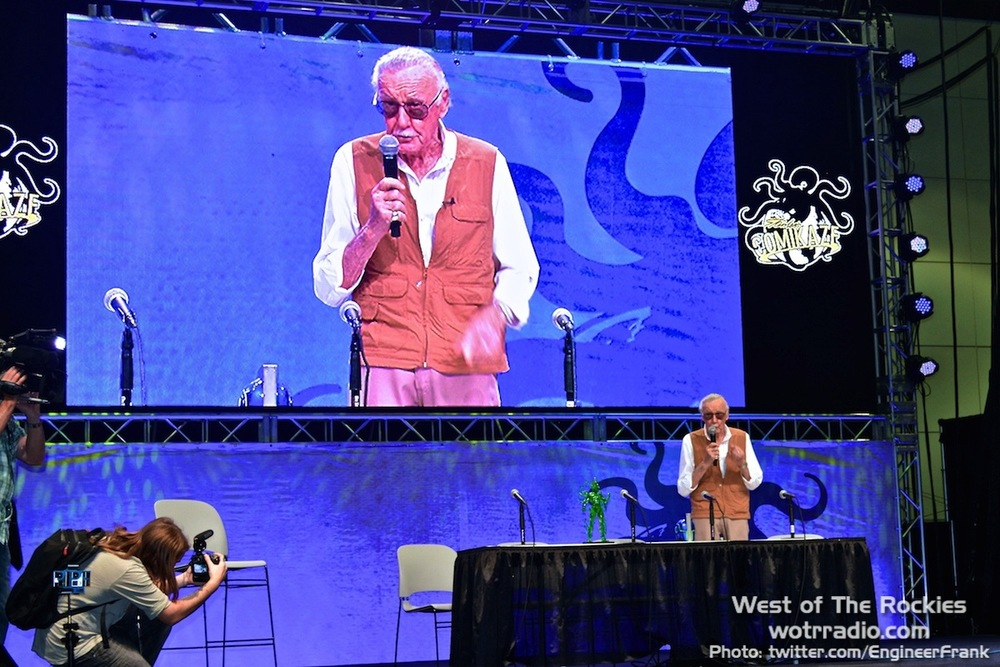 The Comikaze welcome-speech by Stan Lee. What. A. Legend.