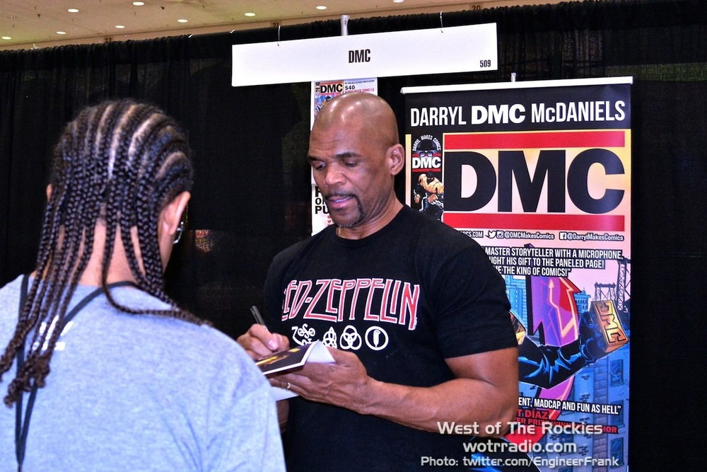 DMC, charging $10 a poster, $20 a photo, probably more if you want to be in it...