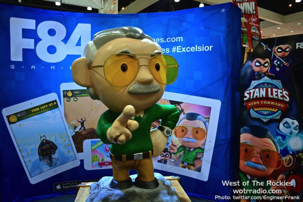 Stan Lee, all cute and cartooned-up!