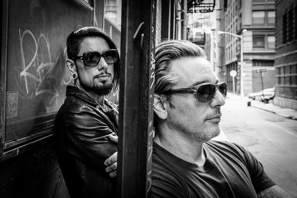 Dave Navarro and Todd Newman.  Photo courtesy of  Vega Baby .