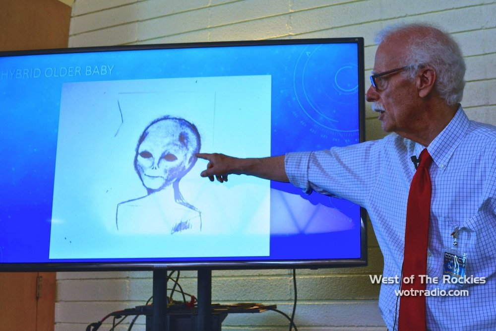 "Dr. David Jacobs during his workshop, ""Hybrids: How, What & Why?"""