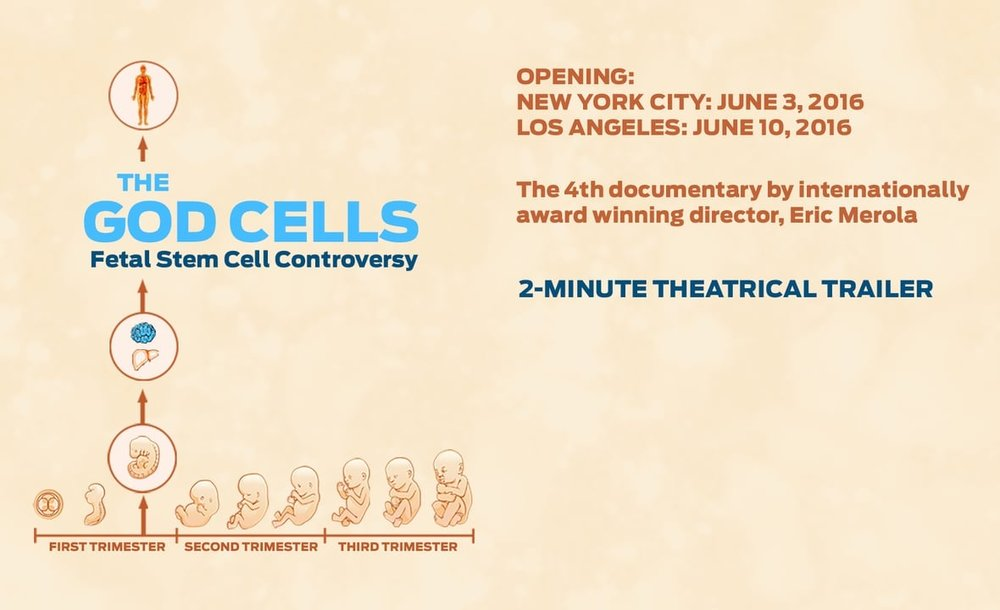 """The God Cells"" documentary is available to order on   Amazon  ."