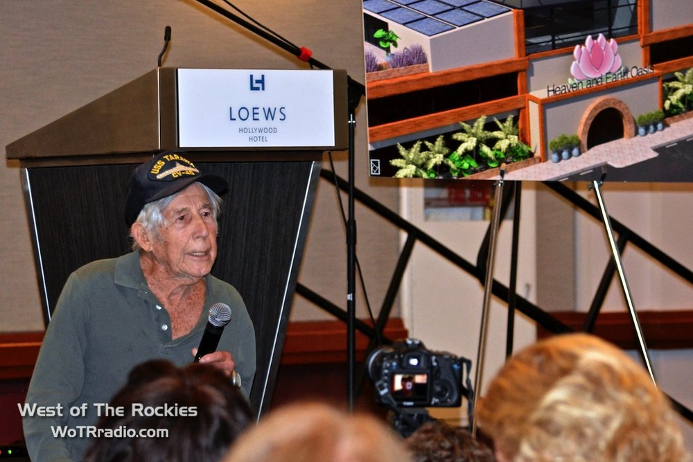 Leon Cooper, WWII Vet & American Hero, featured in the documentary Return to the Phillipines, the Leon Cooper Story.