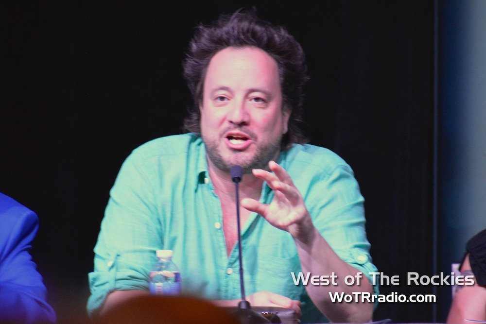 Consulting Producer of   Ancient Aliens  ,  Giorgio A. Tsoukalos , is always a crowd favorite.