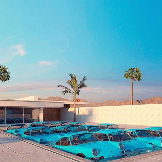🚘🏊🏼 📷: @thecoolhunter_ #impossiblepoolseries #madebyjimmy