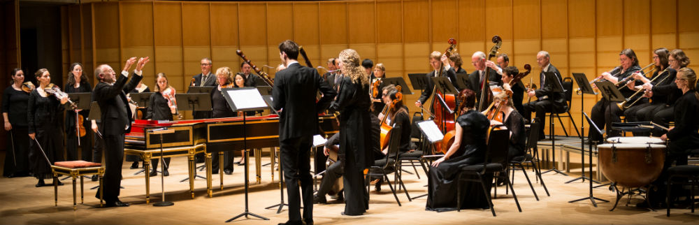 From Music for the Royal Fireworks, a collaboration with Early Music Vancouver at the Chan Centre for the Performing Arts, April 2016