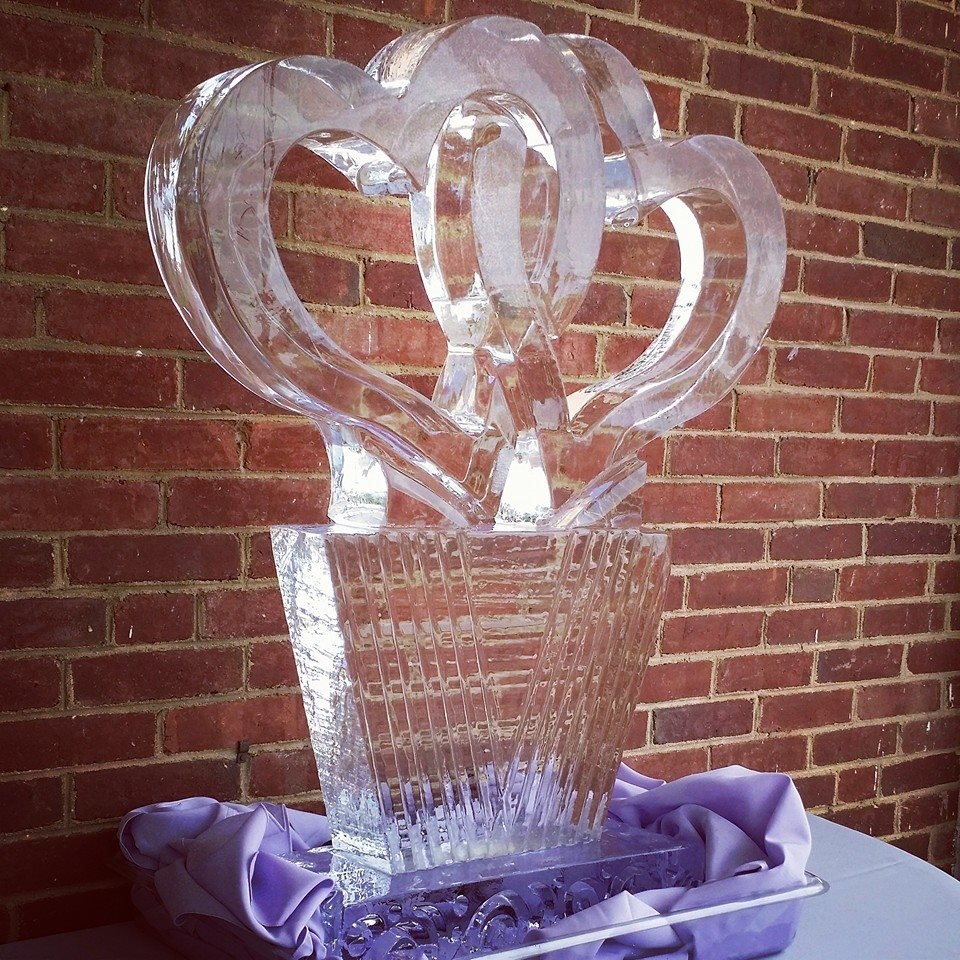 wedding ice sculpture washington dc