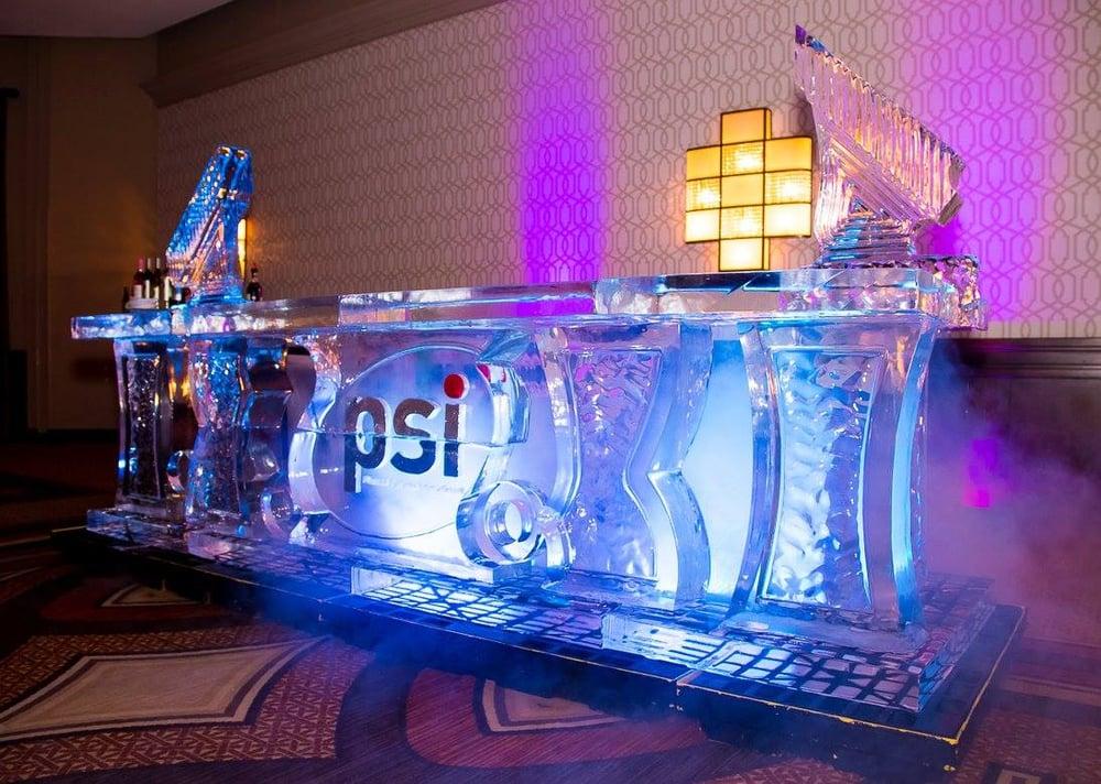 Ice bar — lab sculptures maryland washington dc