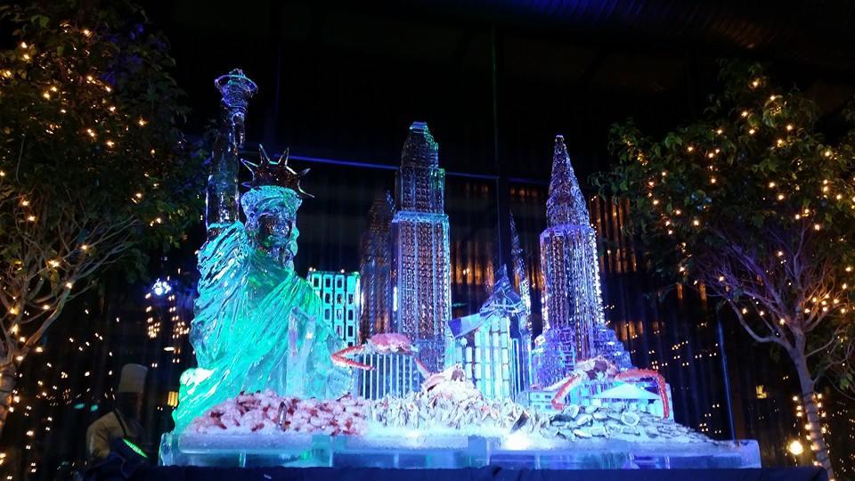 Food display — ice lab sculptures maryland washington