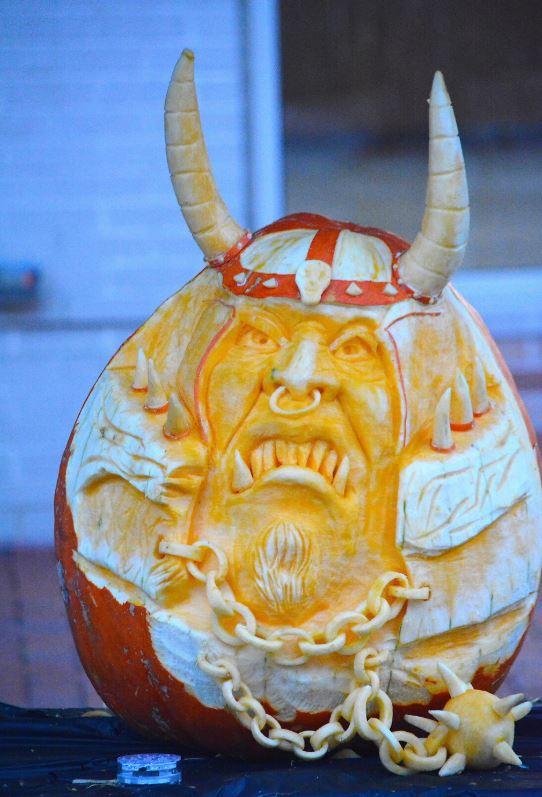 Nancy Baker Pumpkin Carver VA