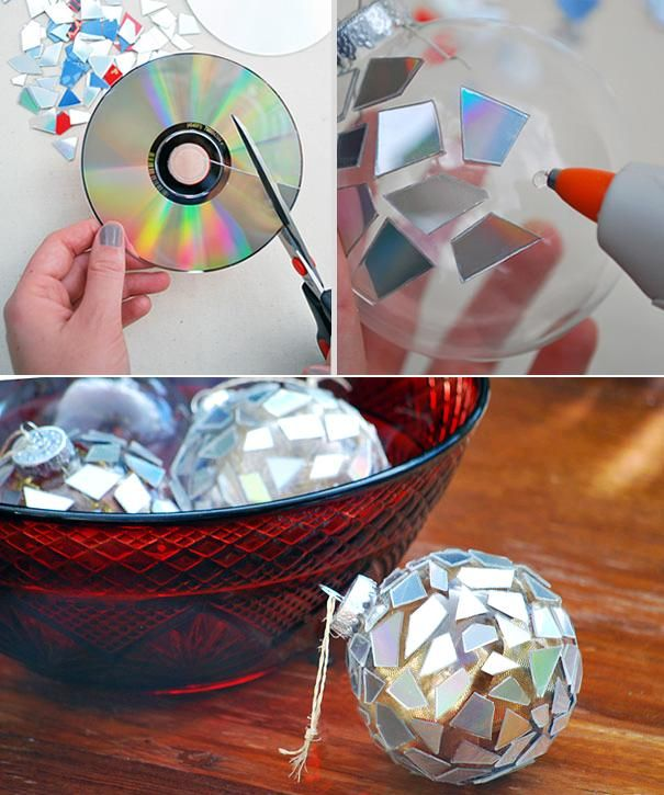 Recycled Cd Mirror Balls