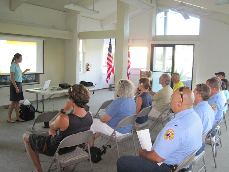 Waikoloa residents join us for workshop