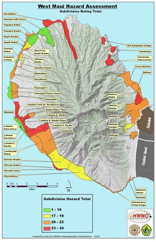 Mapping Services Hawaii Wildfire Management Organization