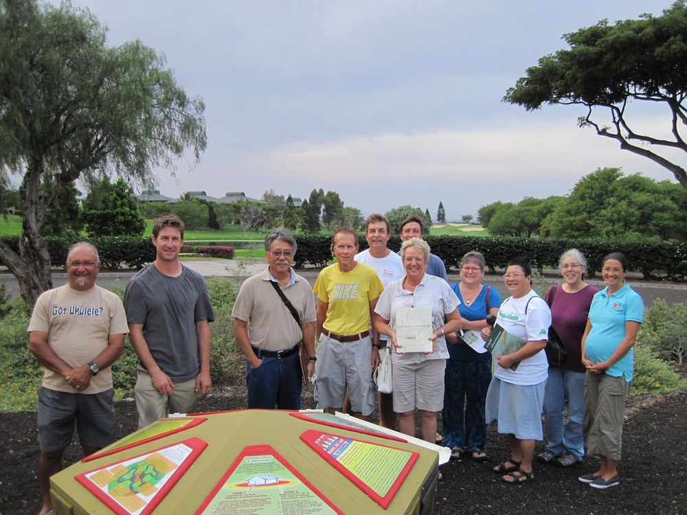 Above: Waikoloa Firewise Committee