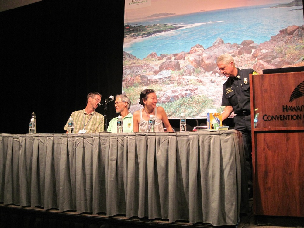 Last yearʻs symposium at the 2014 Hawaii Conservation Conference we took part in on the topic of Wildfires in Hawaii.