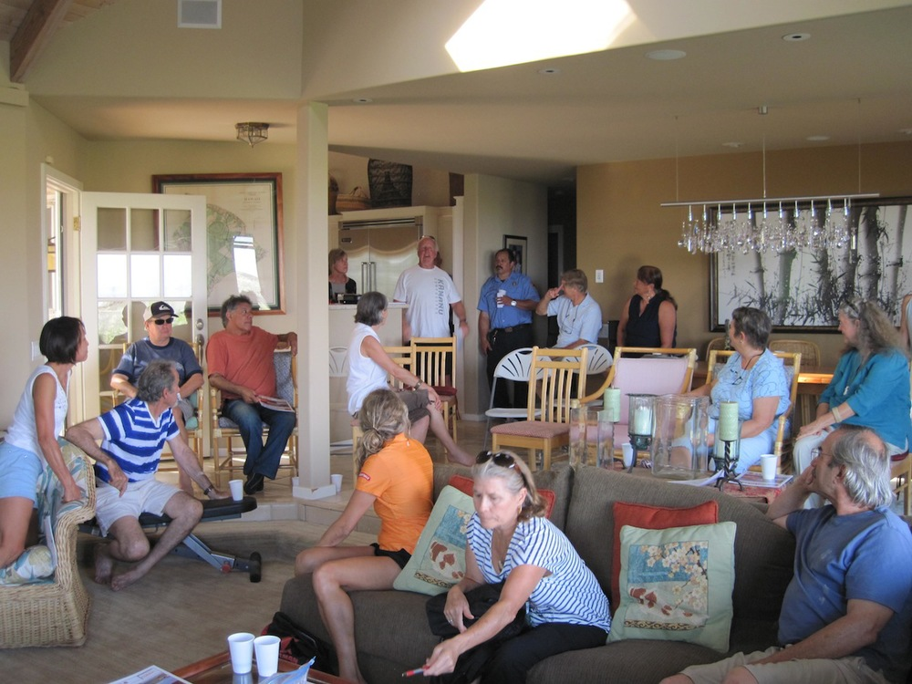 Twenty-two community members discuss wildfire concerns in the area after our RSG! Workshop.