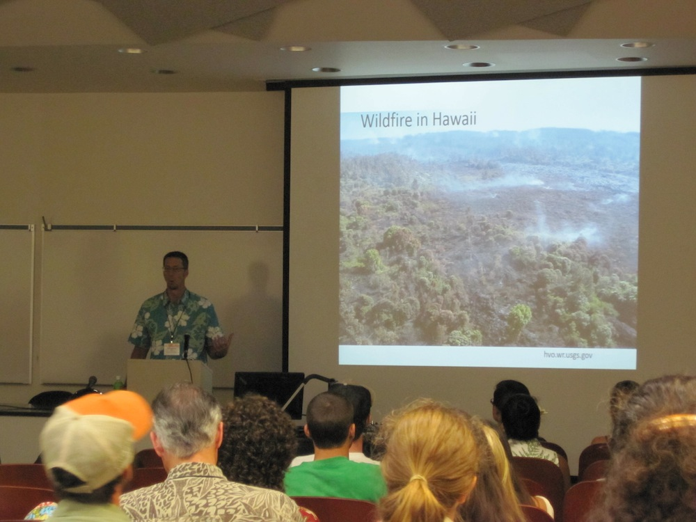 Creighton Litton (UH Manoa) talks wildfire in Hawaii and its impacts on carbon emissions.