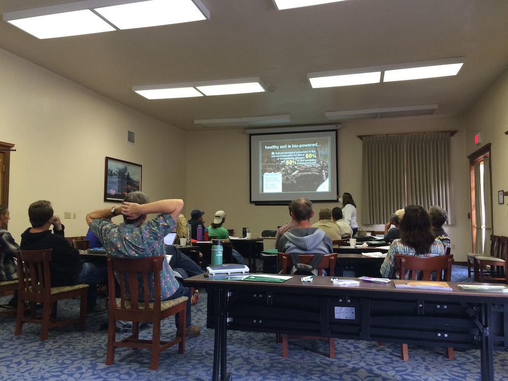 Workshop held at Kilauea Military Camp.