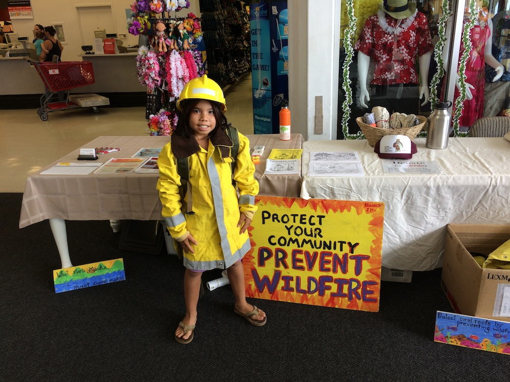 Wildland Firefighter photo also comes in Polaroid (which the keiki get to keep!)