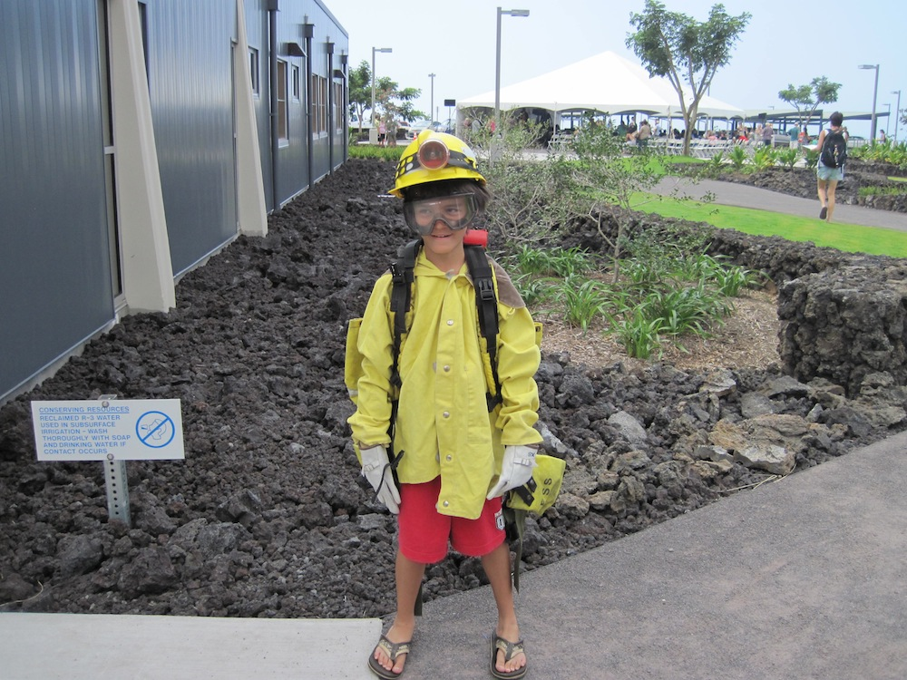 Keiki Wildland Firefighter Photo Shoot