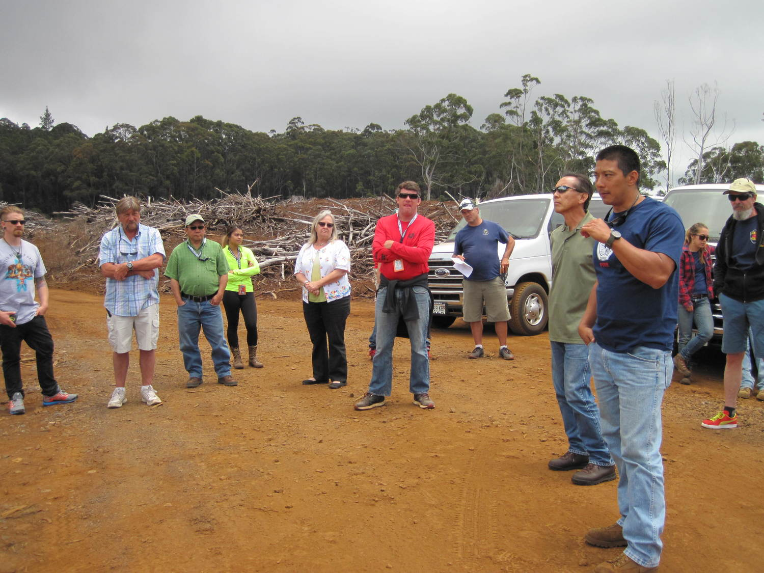 CNH Wildland Fire Conference & PFX Field Tour to Kokee — Hawaii ...