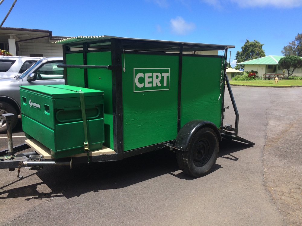 PMKCA is a step ahead in terms of community emergency response as they now have a new CERT trailer.
