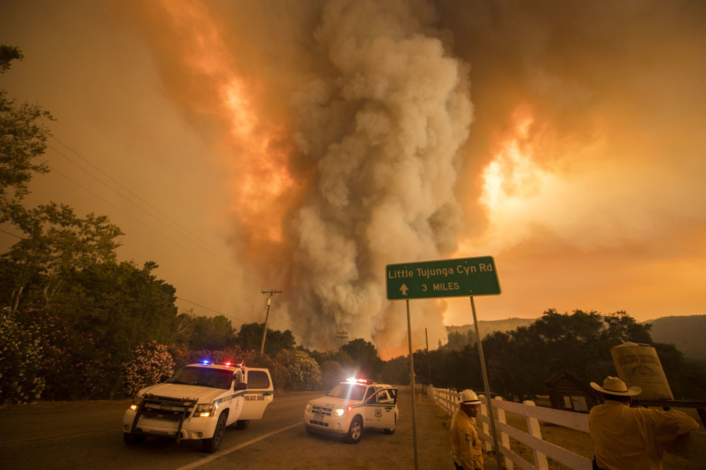 Sand Fire. (Credit - Center for Investigative Reporting)