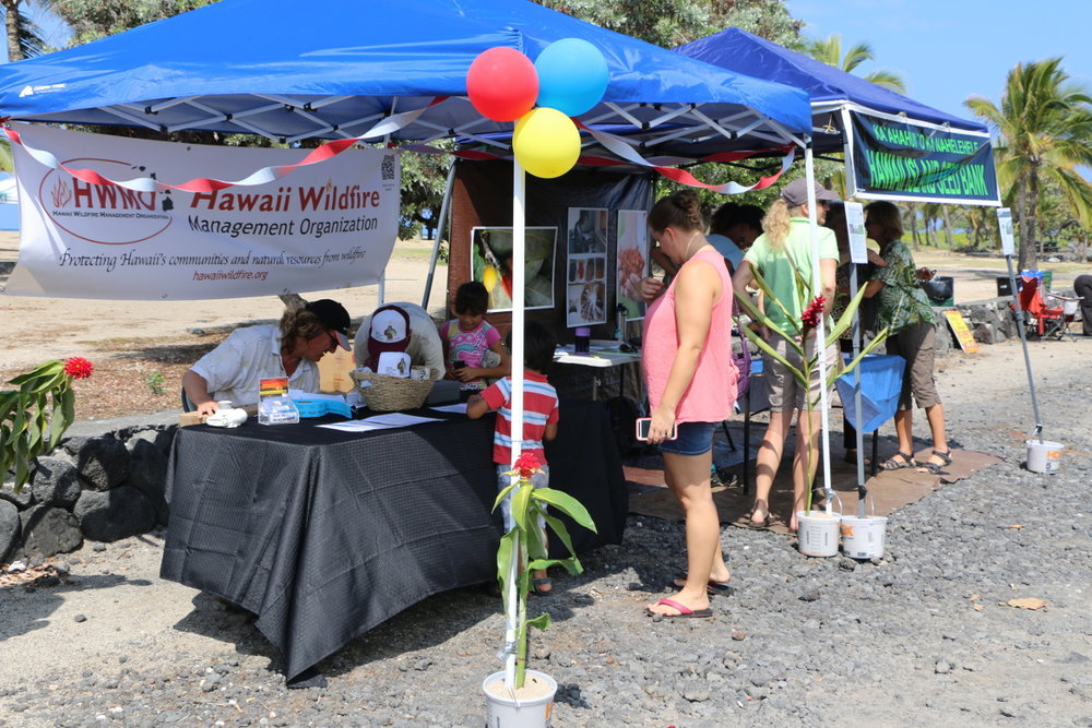 Beach Party for Wildfire Awareness. Credit: Hawaii DLNR