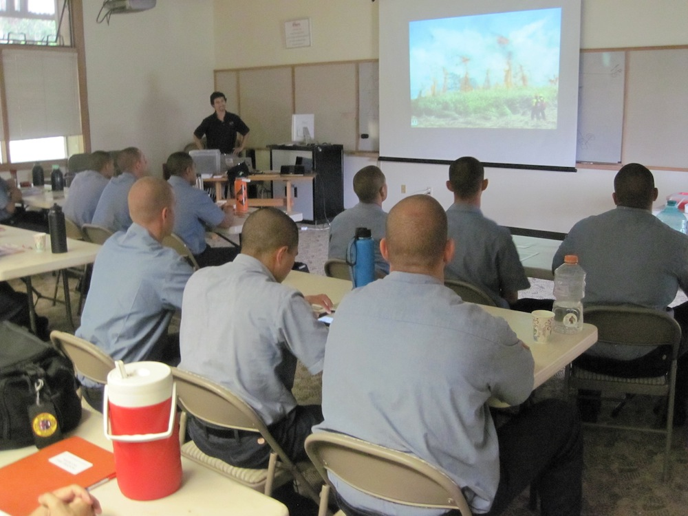 Pablo Beimler presenting to HFD recruits back in November 2016.