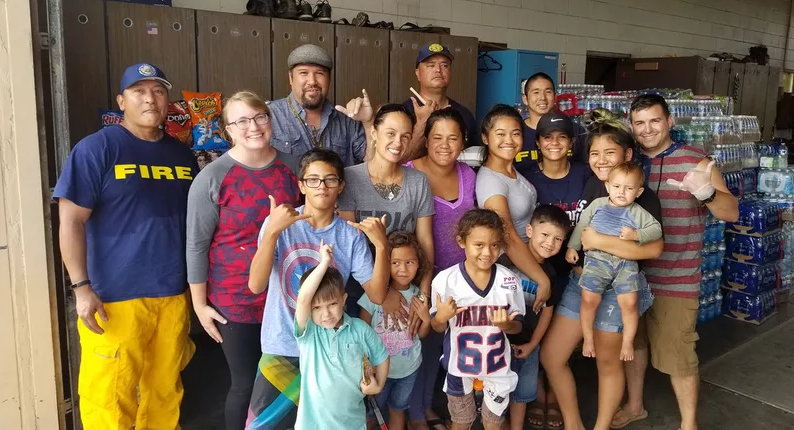 Oahu residents have been showing an outpouring of support for Waianae firefighters. Credit: Cliff Laronai / Hawaii News Now