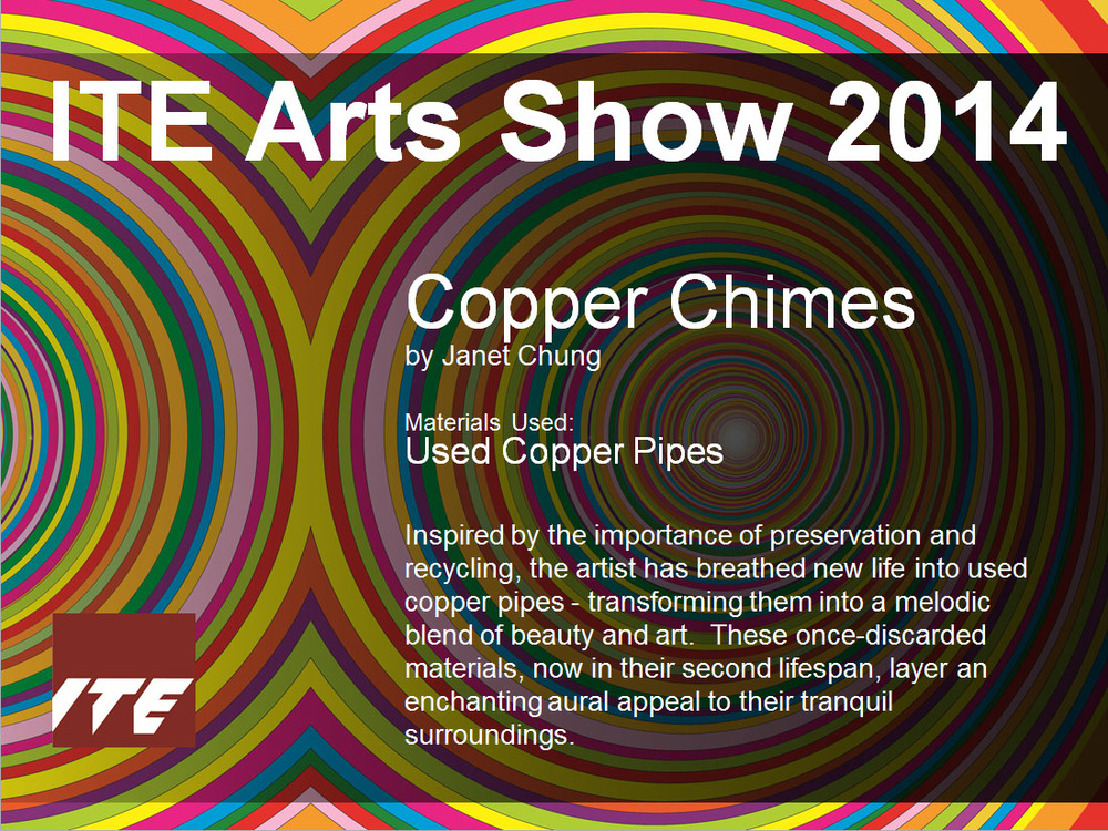 Copywriting & Design for the ITE Visual Art Show 2014 artwork panels