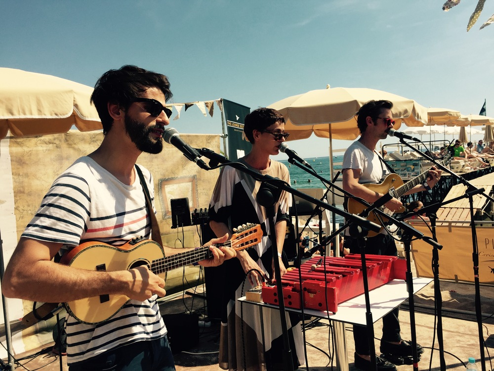 We Were Evergreen at Native Lounge Sessions, Cannes