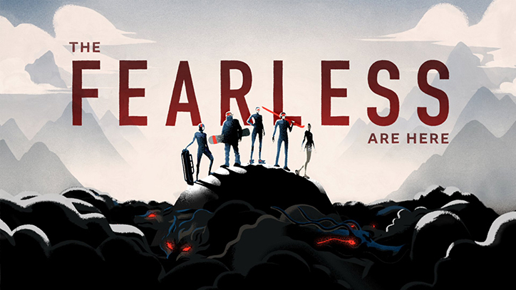 BBC WInter Olympics : 'The Fearless'
