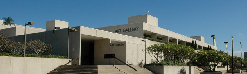 Image: Exterior view of the Queensland Art Gallery | Photograph: Natasha Harth