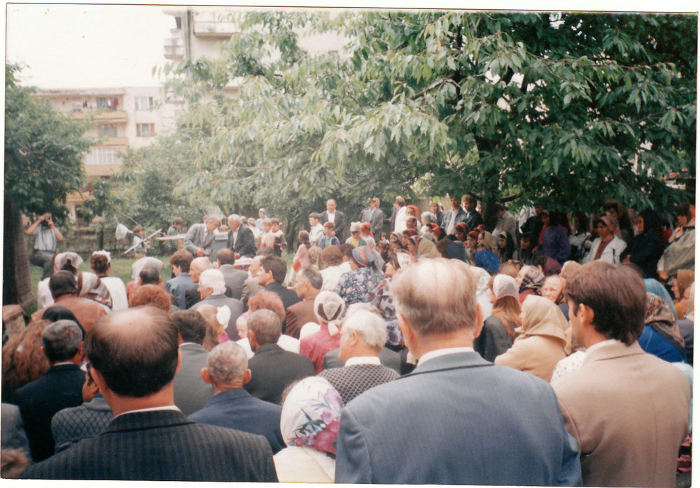Jibou, Romania - Evangelistic meeting in open air.jpg