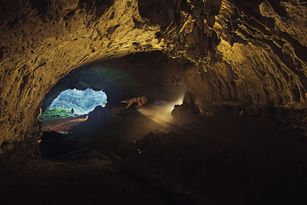 Пещера Дзодзуани. Фото: National Geographic