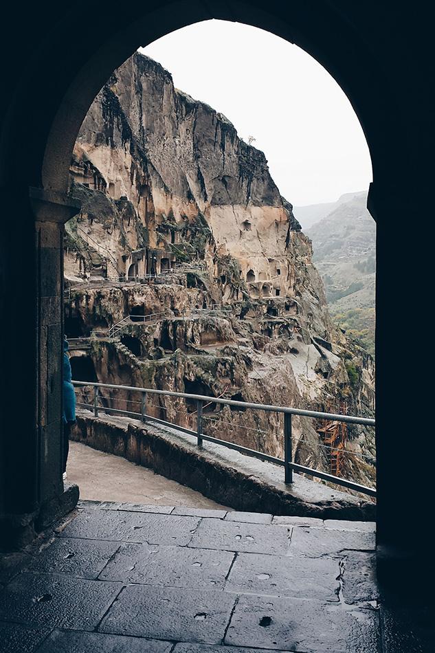 ид на монастырский комплекс Вардзиа